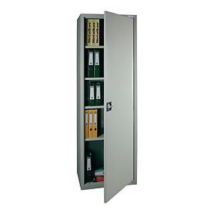 Szafa biurowa jednodrzwiowa METALKAS wys.198 x szer.70 x gł.40 cm, szara*