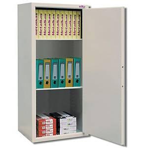 Szafa biurowa dwudrzwiowa METALKAS wys.103 x szer.100 x gł.40 cm, szara*