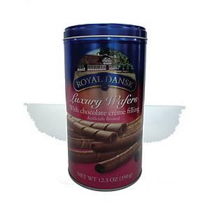 Royal Dansk Chocolate Wafers 350g