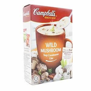 Campbell s Wild Mushroom 17g  - Pack of 3