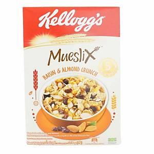 Kellogg s Mueslix Raisin & Almond 375g