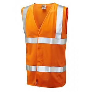 Leo W08 Waistcoat High-Vis Orange Size XXL
