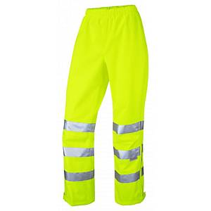 Leo LL02 Ladies Overtrouser High-Vis Yellow Size Large