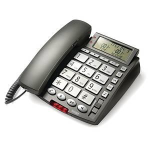 Telefono fisso Nilox NXTFB01 con display alfanumerico