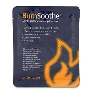 Burn Relief Dressing 20X20cm Pk5