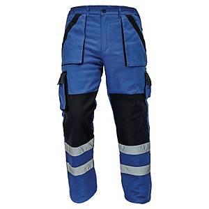 Spodnie ocieplane CERVA MAX WINTER REFLEX, niebiesko-czarne, rozmiar 52