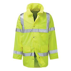 High Visibility Jacket Size XL - Yellow