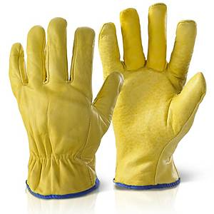 Lined Drivers Gloves Size XL