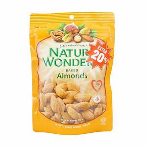 Nature s Wonders Baked Almonds 150g