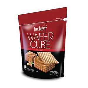 Jacker Wafer Cube Peanut 150g