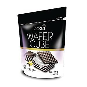 Jacker Wafer Cube Vanilla 150g