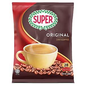 Super Coffee 3 in 1 Regular 20g - Pack of 28