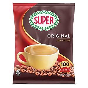 Super Coffee 3 in 1 Regular 20g - Pack of 100