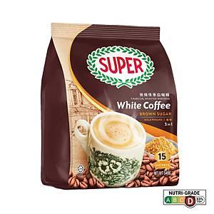 Super White Coffee 3 in 1  Brown Sugar 36g