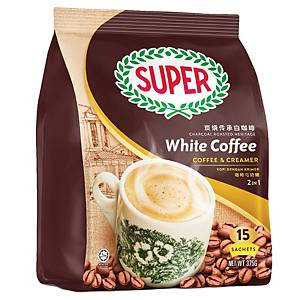 Super White Coffee 2 in 1 Creamer 25g - Pack of 15