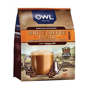 Owl White Coffee Tarik 3 in 1 Original 36G Pack of 15