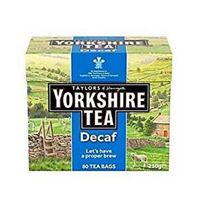 Yorkshire Decaf Tea Bags - Pack of 160