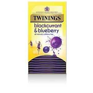 Twining s Blackcurrant And Blueberry Tea Bags - Pack of 20