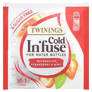 Twining s Cold Infuse Watermelon, Mint And Strawberry Infuse - Pack of 100