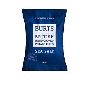 Burt s Sea Salt Crisps - Pack of 20