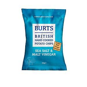 Burt s Salt And Vinegar Crisps - Pack of 20