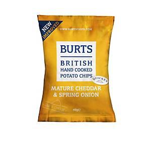 Burt s Mature Cheddar Crisps - Pack of 20