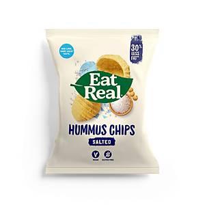 Eat Real Sea Salt Hummus Chips - Pack of 12