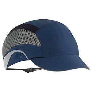 Nárazuvzdorná šiltovka JSP® Aerolite, šilt 5 cm, modrá