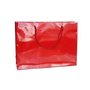 Papírtáska Hanka, 35 x 9 x 24 cm, piros