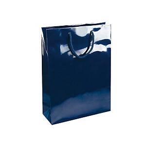 PAPER BAG NATALY 32X13X42CM BLUE