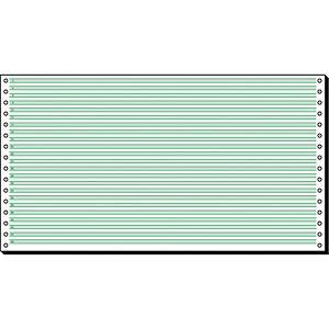 Endlospapier Sigel 08371, 1fach, 203,2 x 375mm, Leselinien, 60g, 2000 Blatt