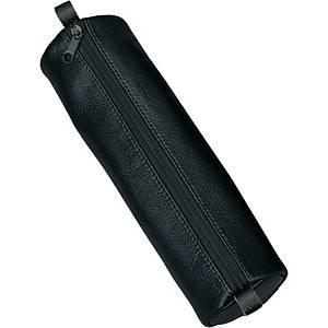 Schlamperrolle Alassio 43017, Leder, Maße: 21 x 6cm, schwarz