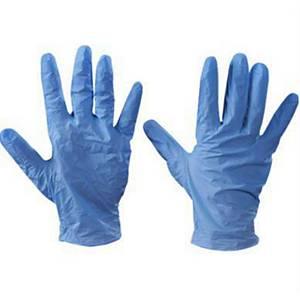 Nutouch Pfree Glove Vinyl Blu M Bx100