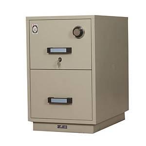 Sen Wai Fire-Resistance Filing Cabinet 2 Shelves