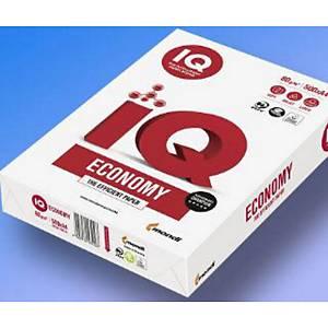 Kancelársky papier IQ Economy,A6, 80 g, biely, 500 listov/balenie