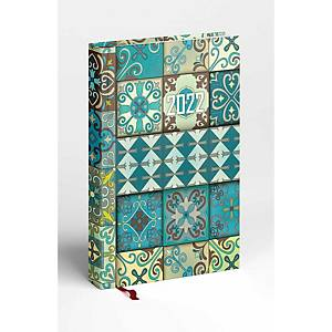 Picture napi határidőnapló A5 - mozaik, 14,5 x 20,5 cm, 352 oldal