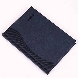 AMIGO A5 DAILY DIARY 14.5X20.5CM BLUE