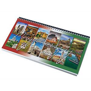 DESK CALENDAR 7991 HUNGARY 32X15.5 BLACK