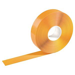 Floor marking tape Strong Durable, 50 x 1.2 mm x 30 m, yellow