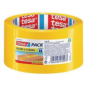 Nastro da imballo Tesa Secure & Strong antieffrazione 50 mm x 50 m giallo