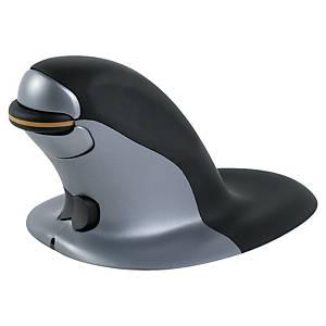 Rato sem fios Fellowes Penguin - ergonómico vertical ambidestro - L
