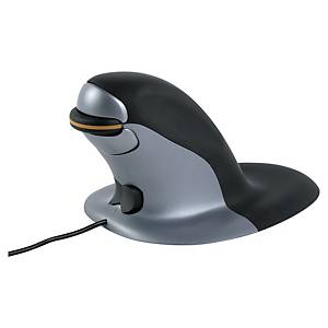 Mouse verticale Fellowes Penguin con filo taglia small