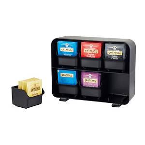 Dispensador saquetas infusões Archivo 2000 - preto