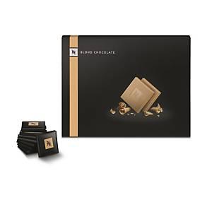 Nespresso Petits Carres Blond Chocolate - Box of 40 Chocolates