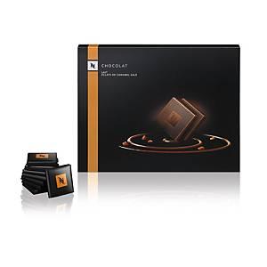 Nespresso Petits Carrés Dark Salted Caramel, Packung à 200 g