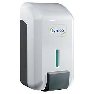 Dozownik do mydła w płynie LYRECO, 0,7 l,  biało-szary *Aktualnie zamiennik