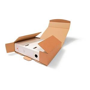 Ordner-Versandbox Ratioform 798/4, Maße: 320 x 290 x 75mm, braun