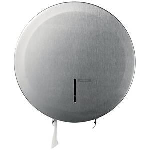 Toilettenpapierspender Katrin 989660, für Maxi Rollen, aus Edelstahl