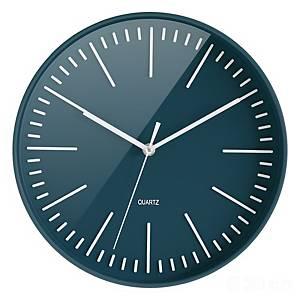Relógio CEP - digital - Ø 300 mm - azul