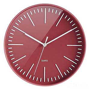 Relógio CEP - digital - Ø 300 mm - vermelho
